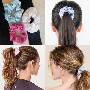 ⭐❄VELVET HAIR SCRUNCHIES BUNDLE OF 3 NEW❄⭐